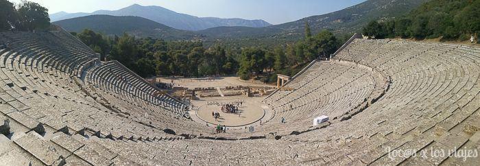 Grecia: Teatro de Epidauro