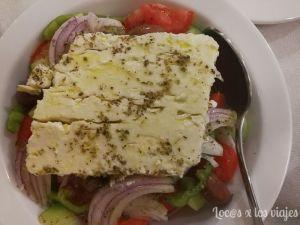 Grecia: ensalada griega