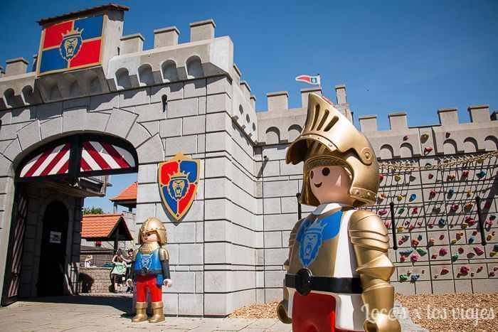 Castillo Medieval en el Playmobil FunPark