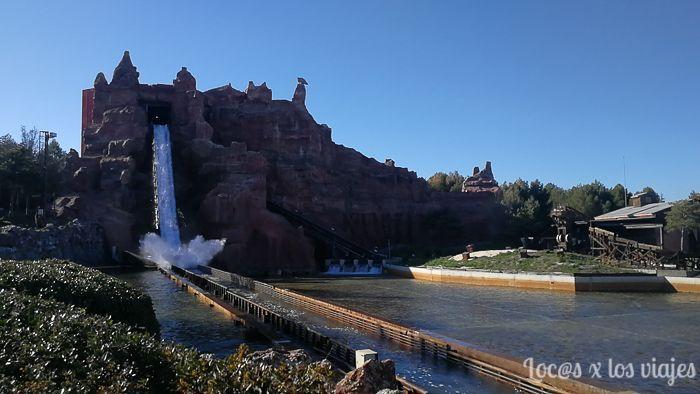 Parque Warner: Cataratas Salvajes
