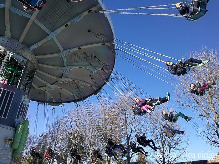 Parque Warner: Sillas Voladoras