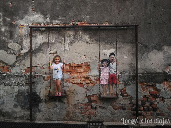 Arte callejero en George Town
