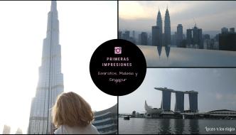 Primeras impresiones de nuestro viaje a Emiratos, Malasia y Singapur con niños