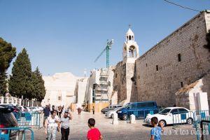 Entrada a la Iglesia de la Natividad de Belén
