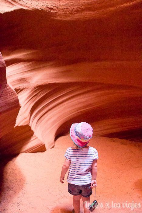 Antelope Canyon con niños