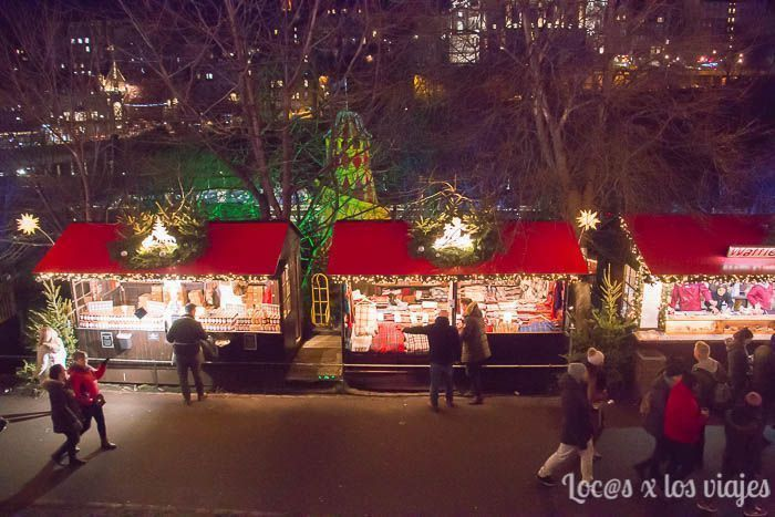 Mercado de Navidad de Edimburgo
