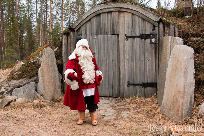 Papá-Noel-Laponia-10 Laponia con niños: Dónde conocer a Papá Noel