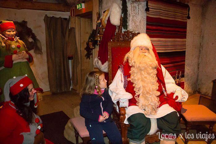 Papá-Noel-Laponia-8 Laponia con niños: Dónde conocer a Papá Noel