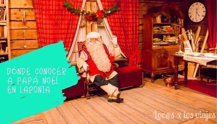 Papá-Noel-en-Laponia Laponia con niños: Dónde conocer a Papá Noel