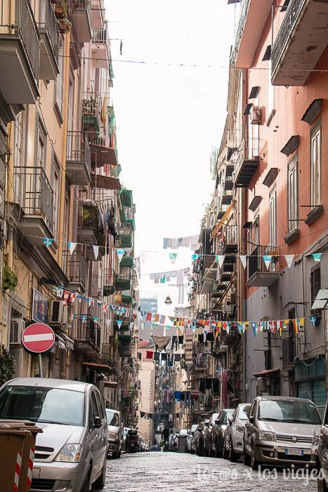 Típica calle napolitana