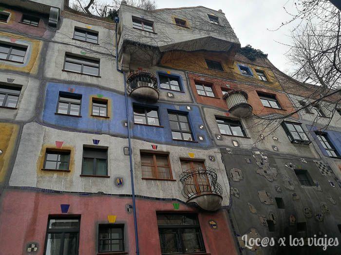 Viena: Hundertwasserhaus