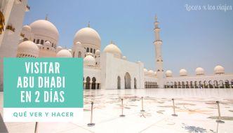 Abu Dhabi en dos días