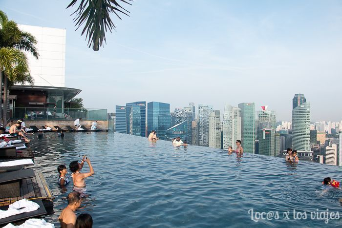 Piscina del Marina Sands Bay
