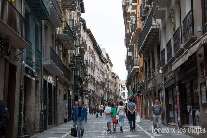 Pamplona en un día: Calle Estafeta