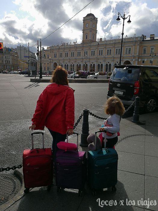 Con nuestras maletas de mano Gabol en San Petersburgo