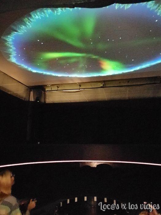 Aurora Boreal en el Museo Arktikum