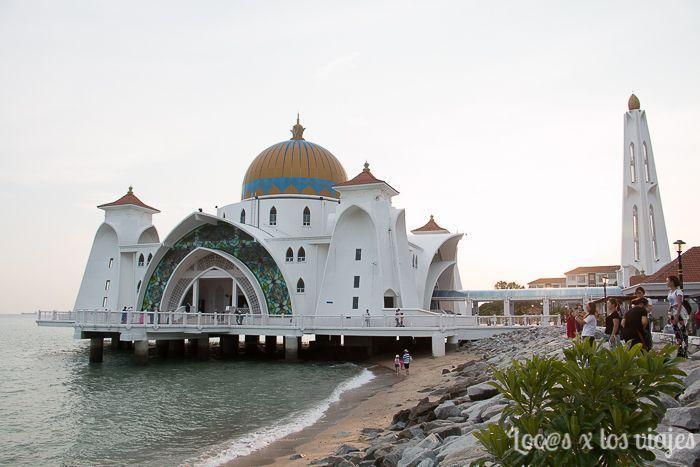 Melaka: Mezquita Selat Melaka
