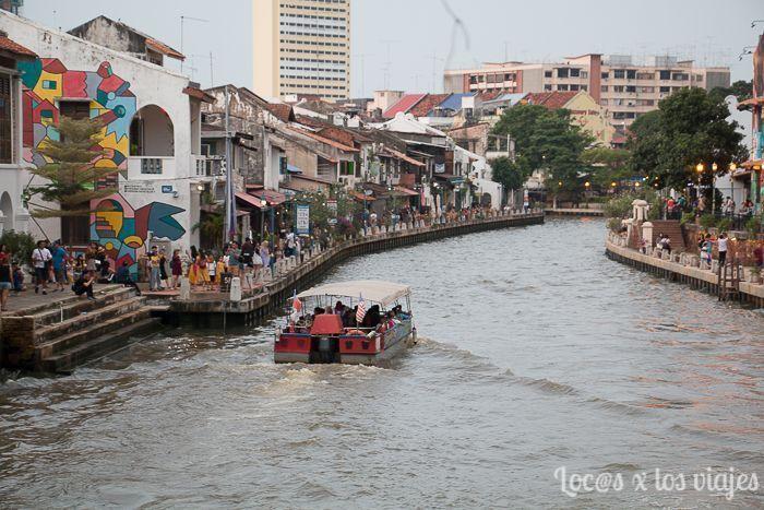 Río en Melaka