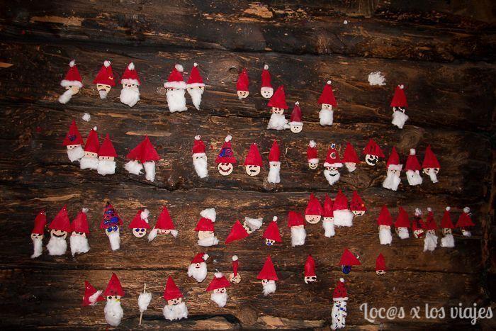 Adornos navideños hechos en Santa Park