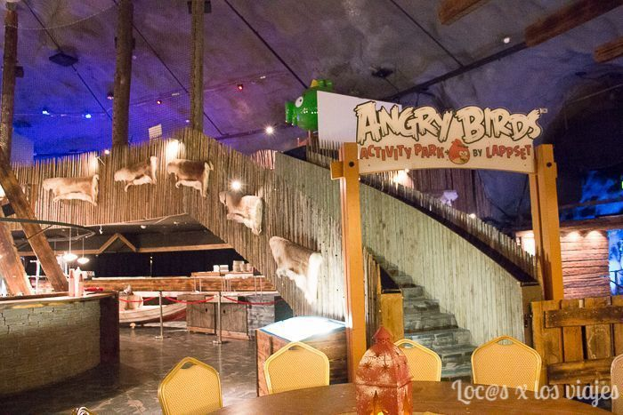 PArque de Angry Birds de Santa Park