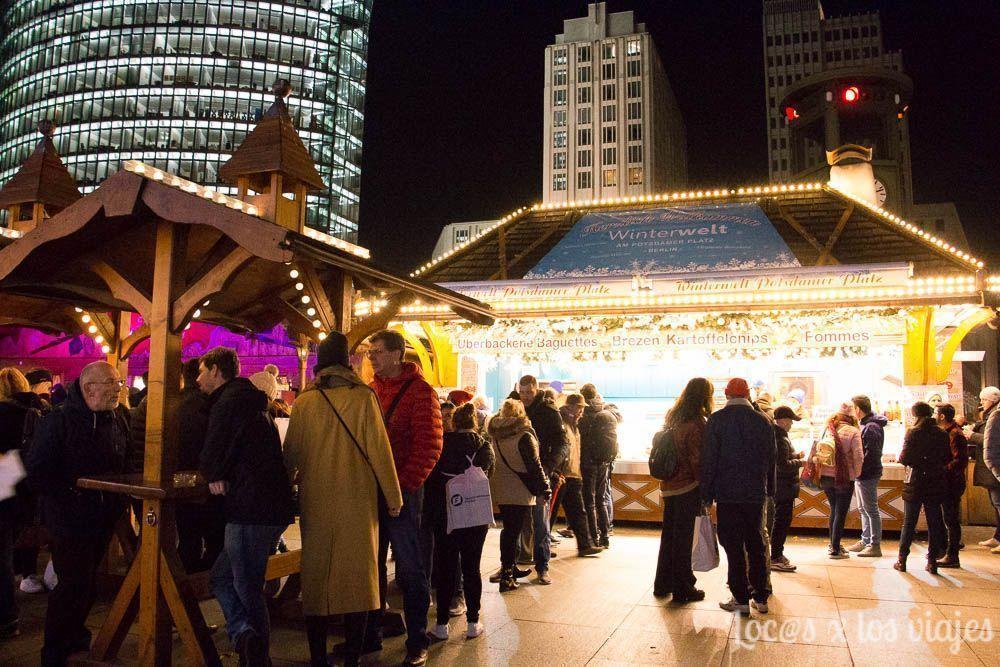 Berlín con niños: Mercadillo de Navidad de Postdamer Platz