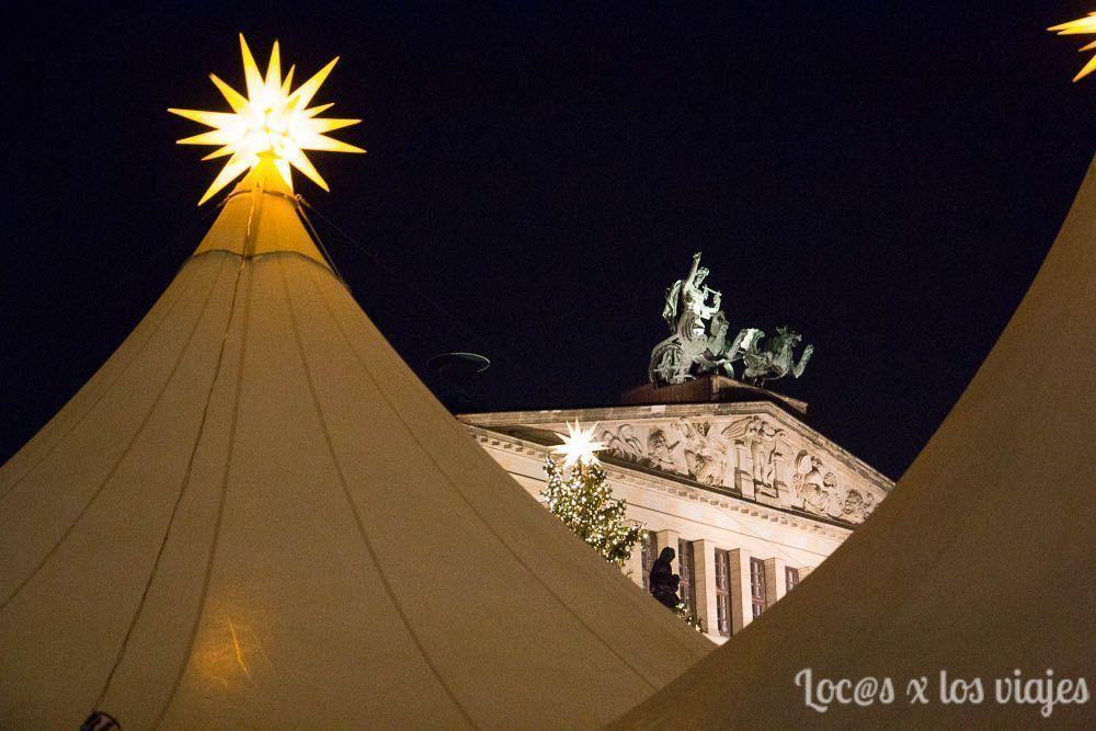 Berlín con niños: Mercado de Navidad de Gendarmenmark Platz