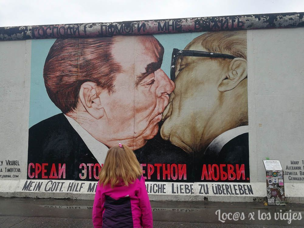 Berlín con niños: Muro de Berlín