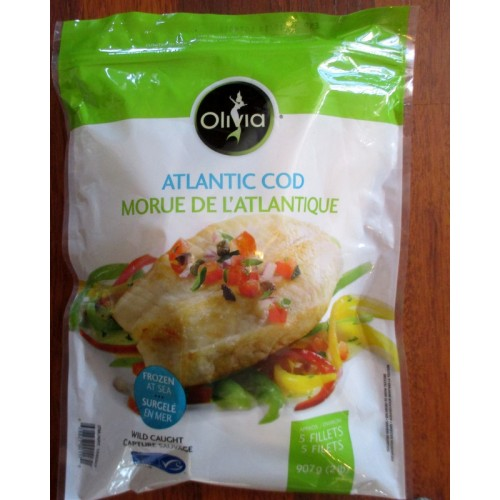 cod filletsfishfrozenoceanfresh