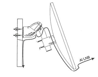 ENGEL AC 7215. Parabolic motor max. 120cm