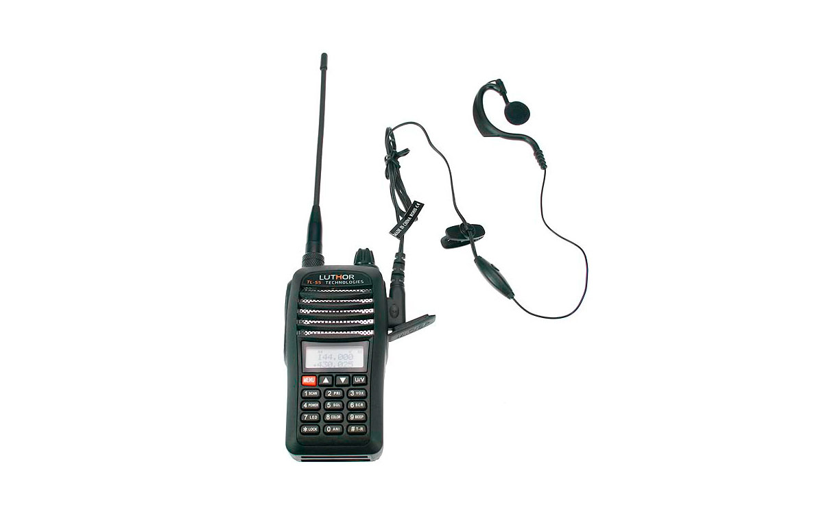 LUTHOR TL55 KIT7 DUALBAND HANDHELD VHF/UHF THE MOST