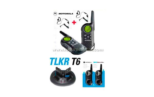 MOTOROLA TLKR KIT1 T6, the new model. USE WALKIE FREE GIFT