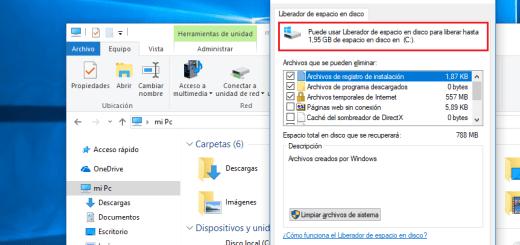 Cómo eliminar archivos antiguos tras una actualización en Windows