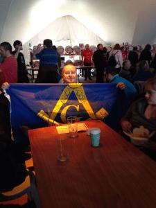 Basingstoke Freemasonry well represented at Hants Octoberfest 2013 by Light Blues Club members