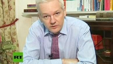 Julian Assange twee jaar in ambassade Ecuador in Londen