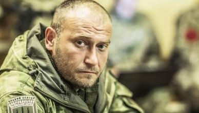 Dmytro Yarosh, leider van de extreem-rechtse organisatie Pravy Sektor