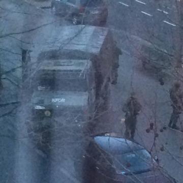 KFOR (Kosovo Forces) zorgen voor onze veiligheid