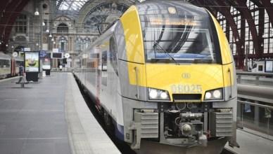 Trein station Antwerpen-centraal