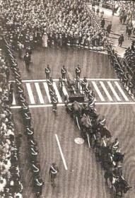Staatsbegrafenis van Abdelkrim El Khattabi in Egypte
