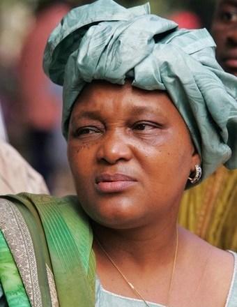 Rabatiou Serah Diallo, secretaris-generaal van de Confédération Nationale des Travailleurs de Guinée