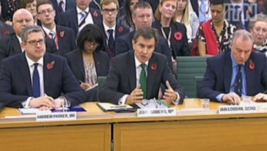 De bazen van de Britse MI5, MI6 en GCHQ kwamen in een parlementszitting aan het woord