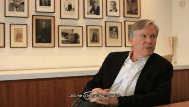 Hoofdredacteur van de New York Times Bill Keller schept op over zijn dagelijkse telefoontjes met hoge pieten van de Amerikaanse regering en zijn beslissing om de massale spionage van de NSA dood te zwijgen