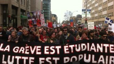 De staking is van de studenten, de strijd is van het volk