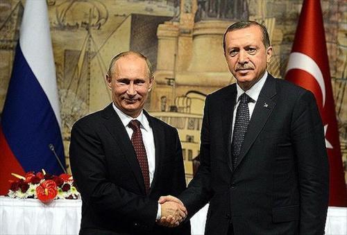 Poetin en Erdogan in betere tijden