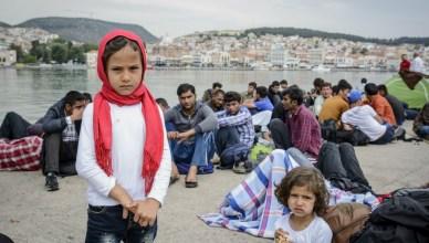 Griekenland en gestrande vluchtelingen gaan erg onzekere tijden tegemoet