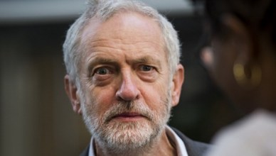 Jeremy Corbyn, sinds 24 september 2016 voorzitter van Labour met 61,8 procent van alle stemmen
