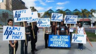 BDS-actie tegen Hewlett Packard