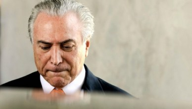 President Michel Temer van Brazilië