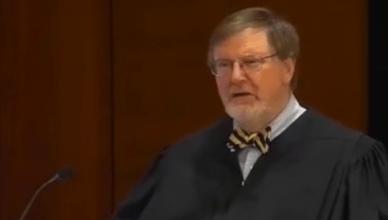 Rechter James Robart tijdens de zitting over de moslimban van president Trump