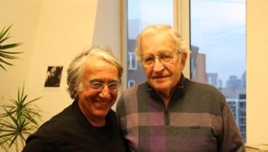 David Barsamian op bezoek bij Noam Chomsky