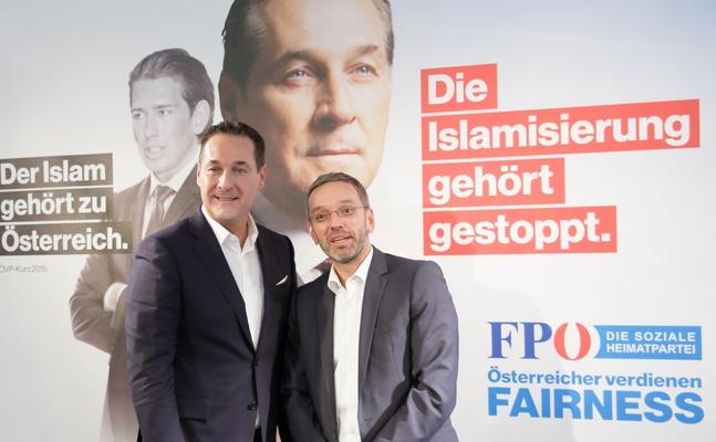Extreemrechtse FPÖ voert campagne tegen de islam